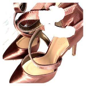 Rose gold/ copper heels